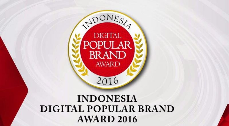 Digital Popular Brand Award 2016